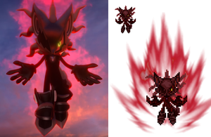 Infinite- Sonic Forces Custom Sprite by EightsRodriguez