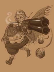 Granny Hunter concept by Aniril-Amakiir
