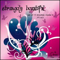 Strangely beautiful Brushes by Coby17
