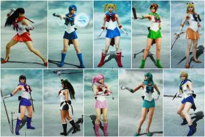 Sailor Senshis in Soul Calibur 5 by EkatiCAT
