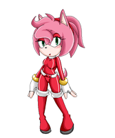 :amy rose: by Strawberry-amai