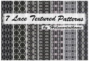 Lace Textured Patterns1 by Helenartathome
