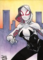 Spider-Gwen PSC by mechangel2002