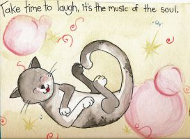 Laugh, its the music of the Soul by Elliesmeria