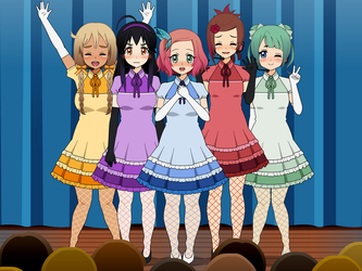 Kisekae 2- After the First Big Live Performance! by sariberrystar