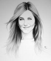 Jennifer Aniston by FromPencil2Paper