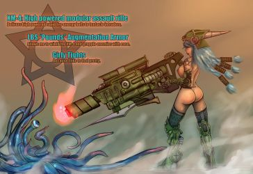 Indiga Copra: T.I.T.S. Soldier by faustie