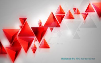 red triangles by TiNema