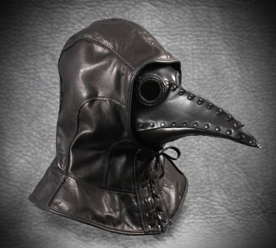 Plague Doctor Hood and Schnabel Mask by TomBanwell