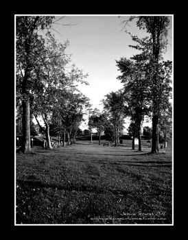 Park in Bagely, MN by bagelsinmypantaloons