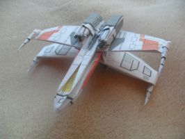 Final Decaled X-Wing by taerkitty