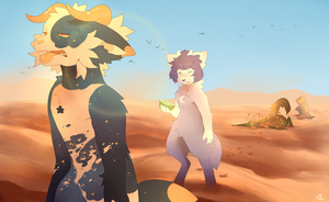 Sand (Exploration) by catwitches