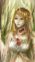 Forest Elf by chalollita