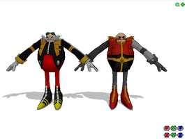 Wip: Eggman Nega and robotnik prime by Gale-Kun