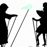 Fun with shadowpuppets by EnthrallinglyBadArt