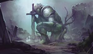 The Primordial Titan by jeffchendesigns