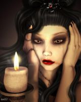 Alice - Candle Light by Aral3D