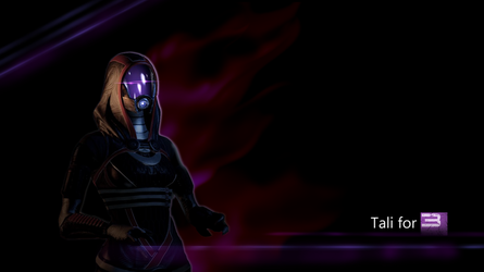 Tali For Mass Effect 3 by HingjonWallpapers