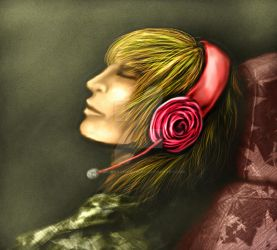 Rose of relaxation2 by younesanimedrawing