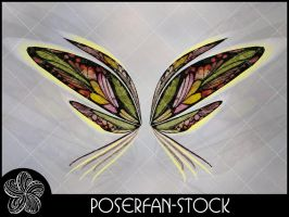 Charmed Fey Wings 005 by poserfan-stock