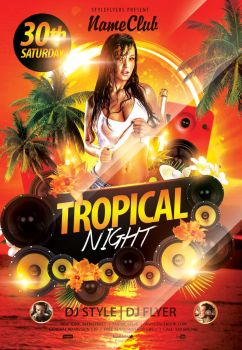 Tropical-night by Styleflyers