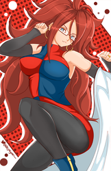Android 21 - Dragonball Fighters Z by Dejaguar