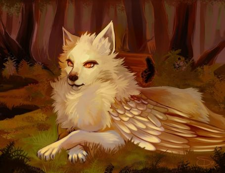 Wolf by SpaceSmilodon