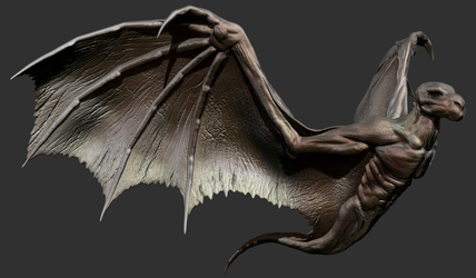 ZBrush - Wings Study 1 by Rebecca1208