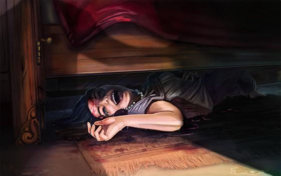 Under the Bed by ihazart