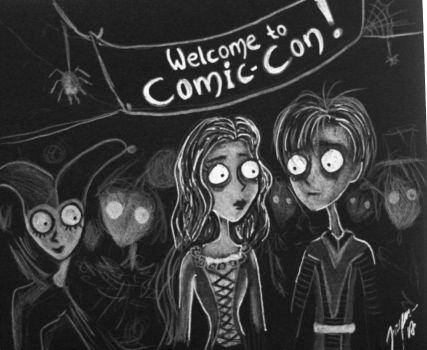 Burton's Romeo and Juliet at Comic-Con by Jangsara