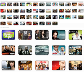 TV shows Icons .V1. by dubbb