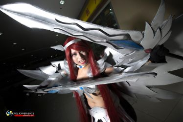 Fairy Tail: Erza Scarlet by yarivleahcim