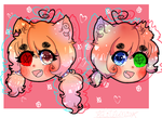 Celina and Lunne chibi head by LittleMc98