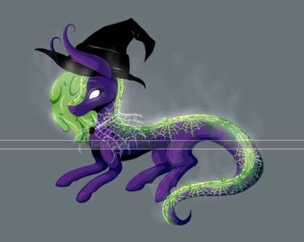 Witch's Brew River Pony (closed) by Trilled-Llama