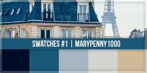 Swatches #1 - Marypenny1000 by MaryPenny1000