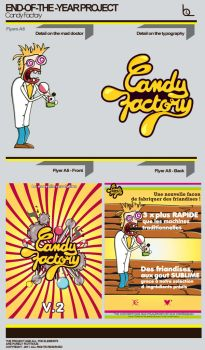 Flyer For The 'Candy Factory' by ineedVitamins