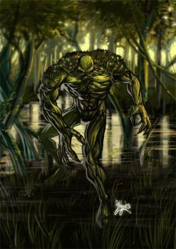 Swampy Thing by silentgecko