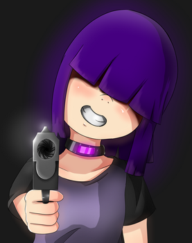 Girl with Gun by therick96