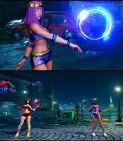 SFV Fusion Set Menat by monkeygigabuster