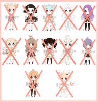 SP #1 -Paypal- 6/12 CLOSED /lowered prices/ by magiAdopts