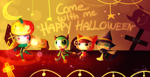HAPPY HALLOWEEN by Yamio