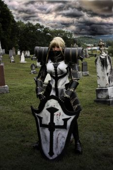Crusader cosplay by Naomi-VonKreeps