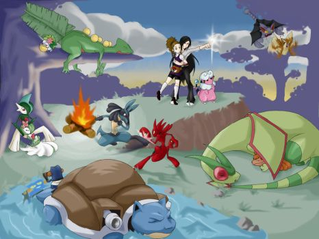 Pokemon thingy FTW by Asteban