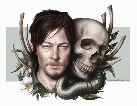 Norman Reedus \ Daryl Dixon by Cthulhu-Great