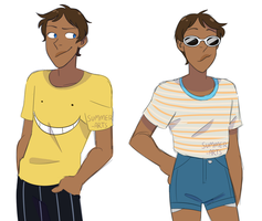 some lances by summer-draws