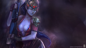 Overwatch - Widowmaker by Taylor-payton