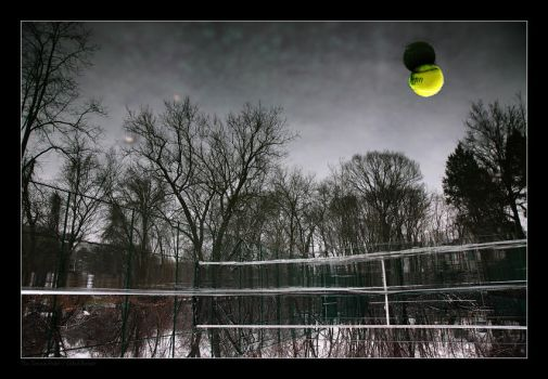 The Tennis Field by gilad
