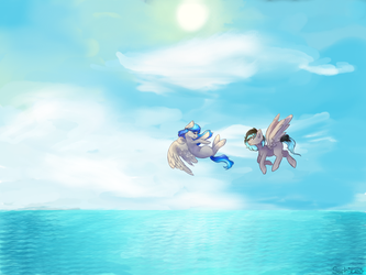 Let's go to the sea by SaphireCat11