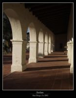 Mission Arches by cra5her