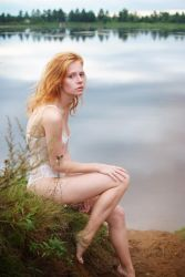 sky in the water by elle-cannelle